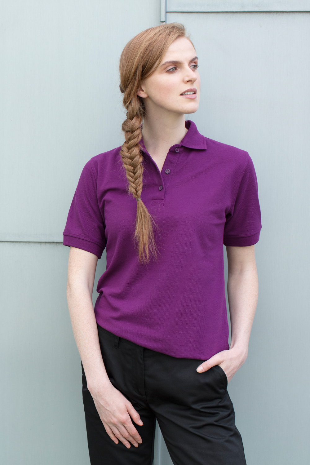 H401 Ladies 6535 Polo Shirt Henbury
