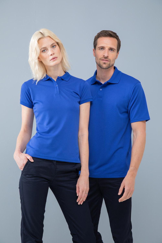Henbury Femme Micro-Fine Pique Polo Shirt